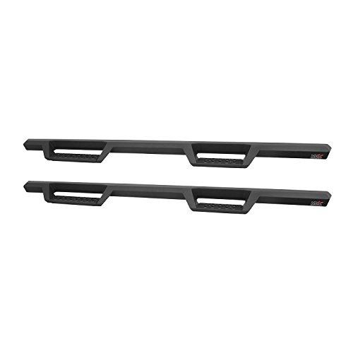 Westin HDX Drop Nerf Step Bars | Silverado/Sierra 1500/2500/3500 Crew Cab 2007-2019 (Excl. 2007 Classic) | 56-13725 | Textured Black | 1 Pair