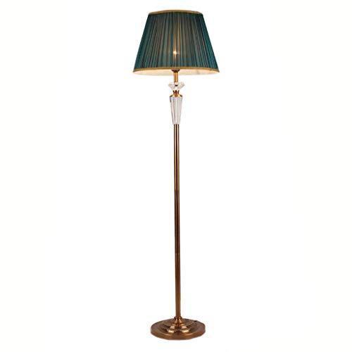 Busirsiz En la sala, hotel, dormitorio, Protección de los ojos Lámpara de pie Interruptor -Light lámpara de cristal de piso Living comedor retro Lámpara de Pie