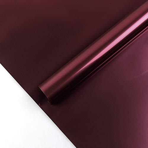 Zhou-WD Waterdicht Inpakpapier, Metallic Luster Boeket Inpakpapier Creatief Luxe Decoratieve Materialen, 60 * 60CM Origami #3