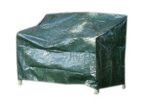 Videx 22133 PE- Schutzhaube für Gartenbank-2 Sitzer, grün