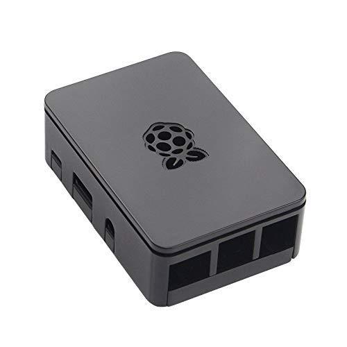 ITSTUFF Premium Raspberry Pi Gehäuse Raspberry Pi 3, Pi 3B+, 2 und B+ (schwarz)