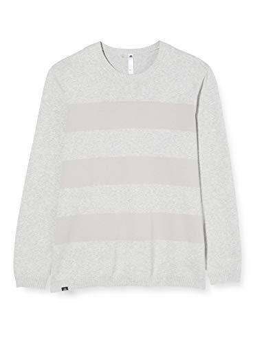 adidas Blended Sweater Maglia Bambino, Grigio (Gris Dq2283), Small Uomo