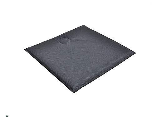 EMU Cuscino per Sedie Magnetico Quadrato in Textilene Antracite