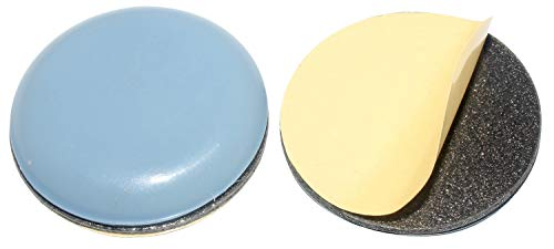 HKB ® 4 Stück Teflon-Möbelgleiter Ø 30 mm selbstklebend, PTFE-Gleiter …