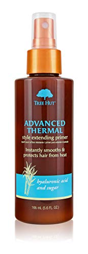 Advanced Thermal Style Extending Primer, Tree Hut Hair & Scalp Treatment With Organic Shea Butter, for Normal To Dry & Color Treated Hair, No Sulfates, Made In USA, 5.6 Fl. Oz