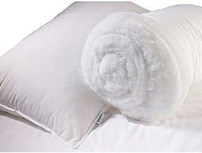 Comfort 6223002410637 Medium Fiber Pillow White 48x74