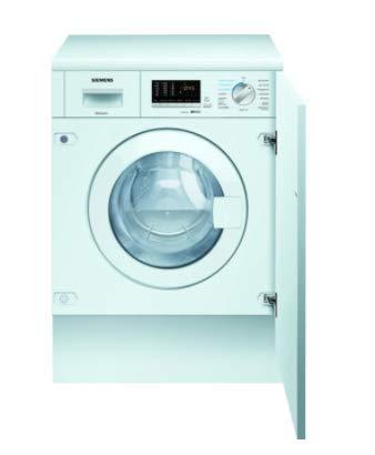 Siemens iQ500 WK14D542 Einbau-Waschtrockner - 7 kg Waschen / 4 kg Trocknen - Weiß, 1400 U/Min