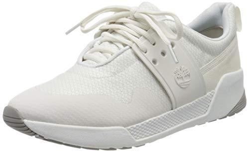 Timberland Kiri Up, Sneakers Basse Donna, Bianco White Knit, 41.5 EU
