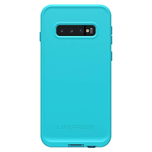 LifeProof FRE Series Waterproof Case for Galaxy S10+ - Retail Packaging - Boosted (Blue Atoll/Hawaiian Ocean/Emberglow)