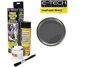 E-Tech EBCP Brake Caliper Paint-Graphite