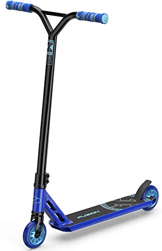 Fuzion X-5 Pro Scooters - Trick Scooter - Beginner Stunt Scooters for Kids 8 Years and Up – Quality Freestyle Kick Scooter for Boys and Girls (2020 Blue)
