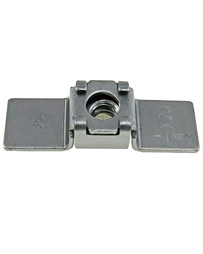 10 Pack 1/4-20 Floating Cage Nut - Weld Nuts with a Floating Cage Nut for Misaligned Holes
