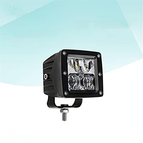Barra LED para coche 12D, luz de trabajo LED de 3', 8000LM, haz de inundación puntual todoterreno, 12 V, 24 V, DRL 4x4 para tractor, camión, ATV, SUV, UAZ,1pcs
