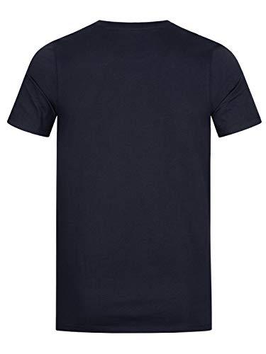 Jack & Jones Jjecorp Logo tee SS Crew Neck Noos Camiseta, Azul (Navy Blazer Detail: Slim Fit), Medium para Hombre