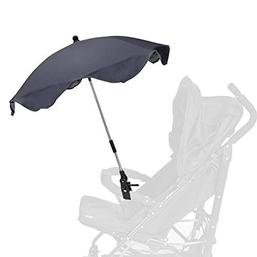 Lixada Cubierta de Lluvia para Toldo Parasol con Clip para Carrito