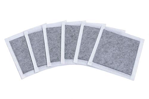 Lowest Prices! SMELLRID Activated Charcoal Incontinence Odor Removal Pads: 12 (4 x 4) Pads with Ad...