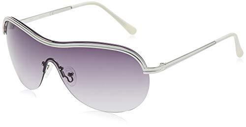 Guess GF6002 5810B zonnebril GF6002 10B 58 ronde zonnebril 150, zilver