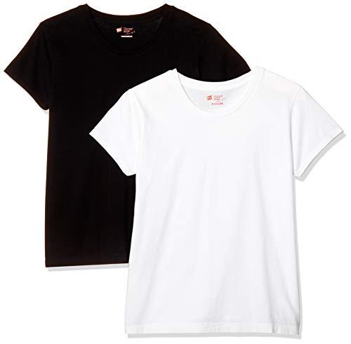 [ヘインズ] Tシャツ ジャパンフィット Japan Fit FOR HER クルーネック 5.3オンス HW5320 レディース アソ...