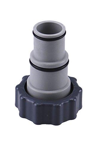 Adapter A für Intex Pool, mit Innengewinde zum Verschrauben, Anschluss für Ø 32 und 38 mm Pool-Schlauch