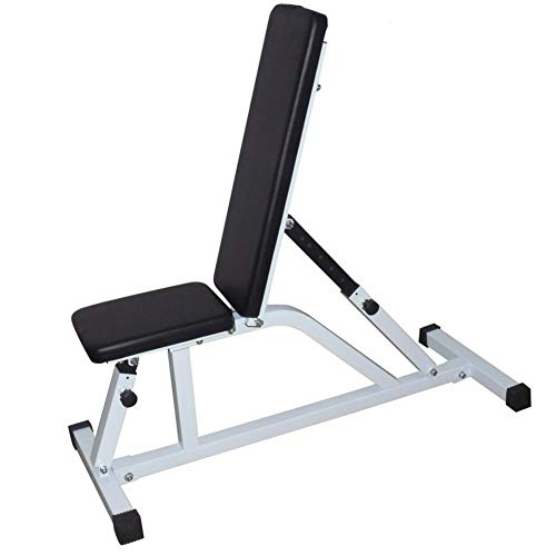 Special-U Adjustable Bench, Multi-Purpose Foldable Incline/Decline Benchs, Adjustable Dumbbell Stool Fitness Stool Sit Up Bench for Full Body Workout Household Indoor Fitness