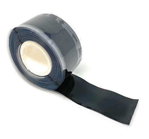 Selbstverschweißendes Silikonband in schwarz - 3 meter lang 25 mm breit - Original Protecticure