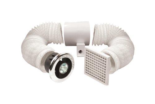 Manrose - Kit di ventilazione e luce per doccia, 100 mm