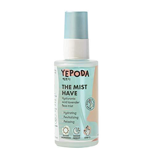 Yepoda Gesichtsspray Hyaluronsäure - THE MIST HAVE, Feuchtigkeit Body Spray für Gesicht und Körper, Reichhaltiges Face Serum, Koreanische Kosmetik (50 ml)