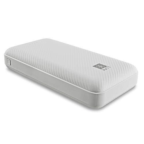 iBall 20000 mAh Powerbank IB-20000LP, Sturdy Dual USB Output, White