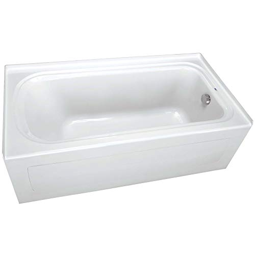 PROFLO PFS7236RSKWH PROFLO PFS7236RSK 72' x 36' Alcove Soaking Bath Tub with Skirt and Right Hand Drain