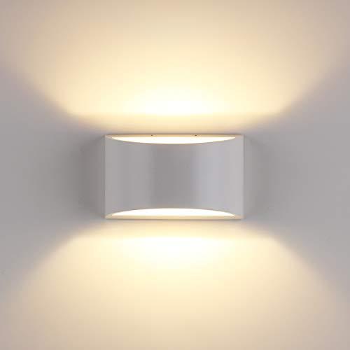 Yissvic Wandleuchte Wandlampe 5W LED Wandbeleuchtung Innen Modern Design Warmweiß (Verpackung MEHRWEG)