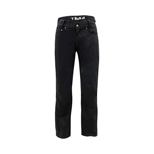 Motorcycle Bull-It SR6 Carbon Drainpipe Jeans 34 Leg Black 32