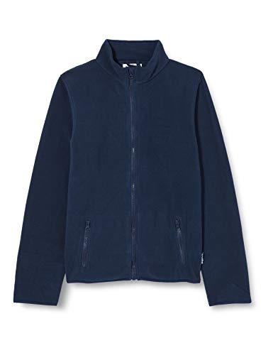 Playshoes Unisex Kinder Fleecejacke Fleece-Jacke, Blau (11 marine), 128