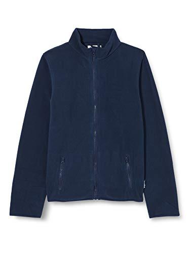 Playshoes Unisex Kinder Fleecejacke Fleece-Jacke, Blau (11 marine), 86
