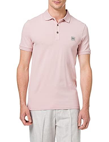 BOSS Passenger Camisa de Polo, Light/Pastel Pink689, XXXL para Hombre