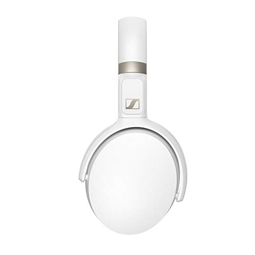 Auricular Sennheiser HD 450BT Wireless, con Cancelación de Ruido Activa, Blanco, Circumaural
