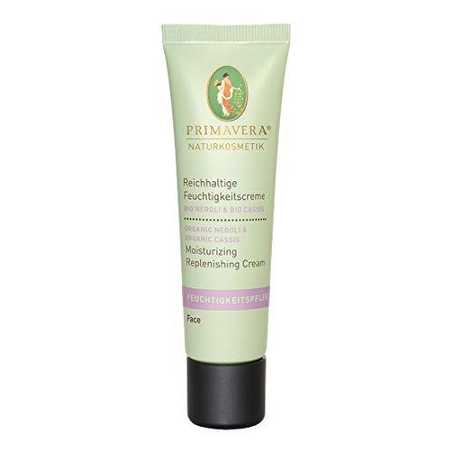 PRIMAVERA Feuchtigkeitspflege Reichhaltige Feuchtigkeitscreme Neroli Cassis 30 ml - Naturkosmetik - revitalisierend für normale bis trockene Haut - vegan