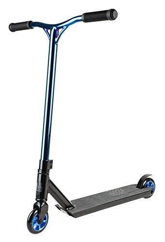Blazer Pro Complete Scooter Outrun FX Skateboard Hockey und Rollschuhe auf Rädern, Unisex, Blau (Chrom), 500 mm