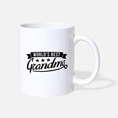 N\A Die Weltbeste Kaffeekanne für Oma-Keramik-Neuheiten zum Nationalen Großelterntag | Großvater & Großmutter | Opa & Großmutter | Opa & Oma Geschenke