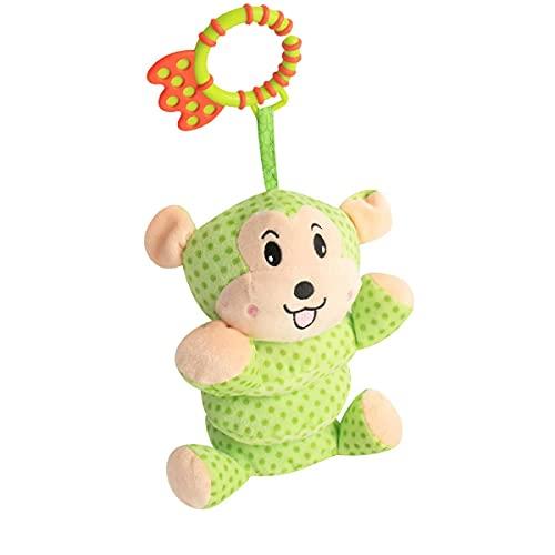 Winnfy Juguetes Colgantes para Bebés Juguetes de Peluche Cascabeles para Bebés Cochecito de Bebé Juguetes Educativos para Recién Nacidos