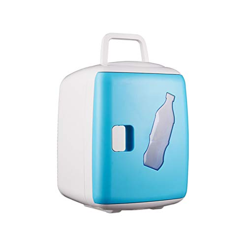 YTIG 15L Mini Fridge Cooler & Warmer Small Fridge Portable AC/DC Mini Refrigerator, Thermoelectric Compact Fridge for Home Bedroom CarHoliday Food Drinks Makeup
