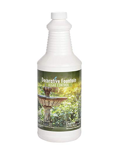 Fountain Algaecide and Clarifier, Formulated for Small Ponds, Water Features, 32oz