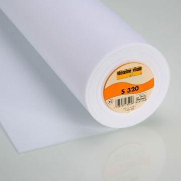 StoffHandwerker Vlieseline S 320-90 cm breit - weiß