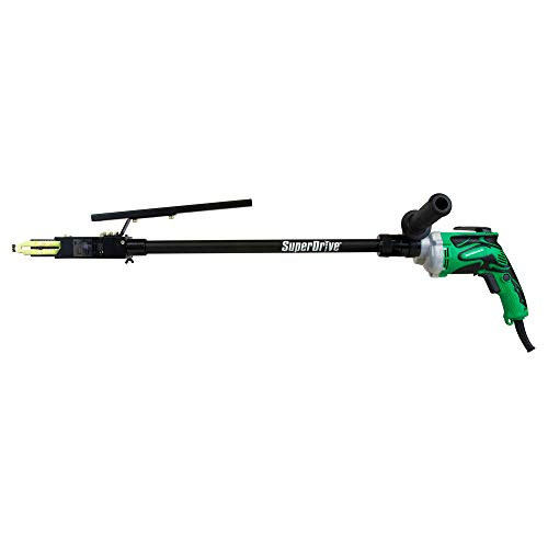 "Metabo HPT SuperDrive Collated Screwdriver, 20"" Extension, 5/8"" to 3"" Screws, 6-#12, Ideal For Decking Installations, Drywall, Sub-Floor, Metal Framing (W6VB3SD2)"
