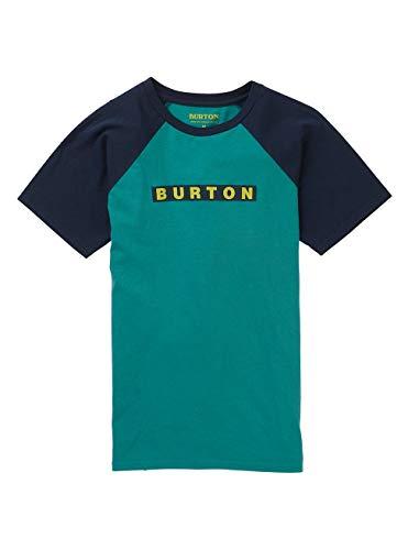 Burton Vault T-Shirt Garçon, Green-Blue Slate, FR (Taille Fabricant : XS)