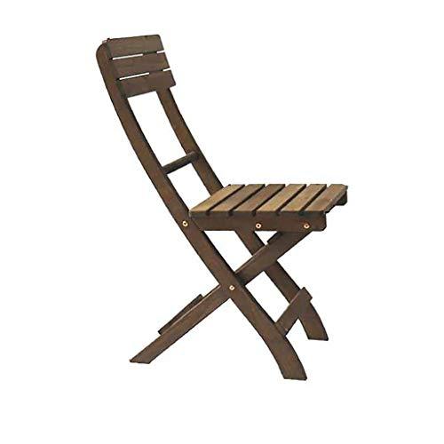 DYQTY Chaise de Camping en Plein Air Silla De Jardín Plegable De Madera Maciza, Director Retro Presidente, Silla De Pesca Al Aire Libre, Usado En Jardín, Terraza 36 * 33 * 84cm
