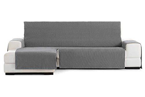 Jarrous Funda Cubre Chaise Longue Práctica Impermeable Modelo Córdoba, Color Gris-06, Medida Brazo Derecho – 240cm (Mirándolo de Frente)