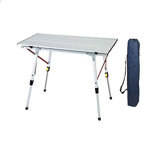BCX Mesa plegable Mesa de picnic Mesa y sillas plegables portátiles ultraligeras para exteriores,Mesa