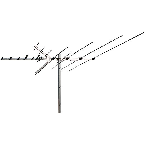 "RCA Outdoor Long-Range Hdtv Yagi Antenna with 100+ Mile Range, 66"" Length Boom and Optional Low-Vhf Extension Elements"