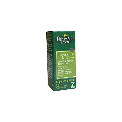NatureSun Aroms Huile Essentielle Lavandin Abrial (Lavandula hybrida clone abrial) Bio 10 ml