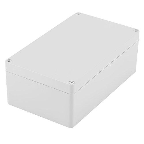 Akozon-Anschlussdose, Wassergeschützter IP65 ABS-Projektkasten-Instrumentenkoffer Gehäuse Fall Verdrahtung Anschlussdose DIY Kunststoff Gehäuse Fall Power Abzweigdose(200 * 120 * 75mm)